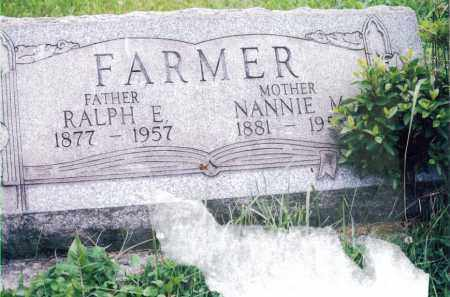 FARMER, NANNIE - Jefferson County, Ohio | NANNIE FARMER - Ohio Gravestone Photos