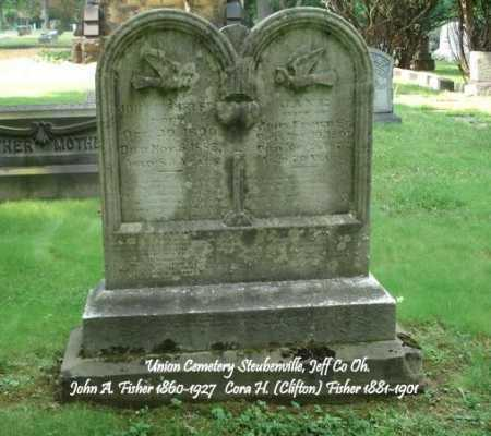FISHER, JOHN E. - Jefferson County, Ohio | JOHN E. FISHER - Ohio Gravestone Photos