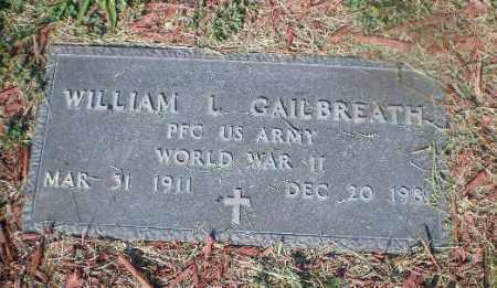 GAILBREATH, WILLIAM L - Jefferson County, Ohio | WILLIAM L GAILBREATH - Ohio Gravestone Photos