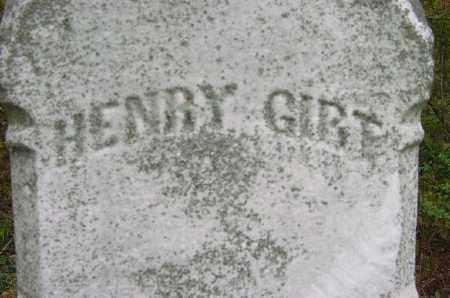 GIRT, HENRY - CLOSEVIES - Jefferson County, Ohio | HENRY - CLOSEVIES GIRT - Ohio Gravestone Photos
