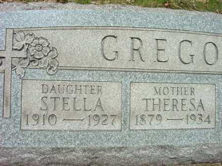 GREGOR, STELLA - Jefferson County, Ohio | STELLA GREGOR - Ohio Gravestone Photos