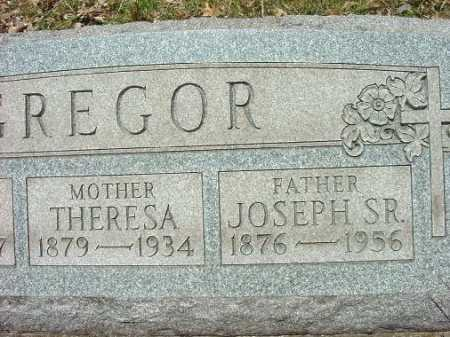 GREGOR, THERESA - Jefferson County, Ohio | THERESA GREGOR - Ohio Gravestone Photos