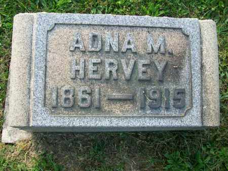 MAGEE HERVEY, ADNA - Jefferson County, Ohio | ADNA MAGEE HERVEY - Ohio Gravestone Photos