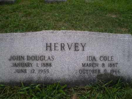COLE HERVEY, IDA - Jefferson County, Ohio | IDA COLE HERVEY - Ohio Gravestone Photos