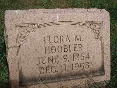 ALBAUGH HOOBLER, FLORA MAUDE - Jefferson County, Ohio | FLORA MAUDE ALBAUGH HOOBLER - Ohio Gravestone Photos