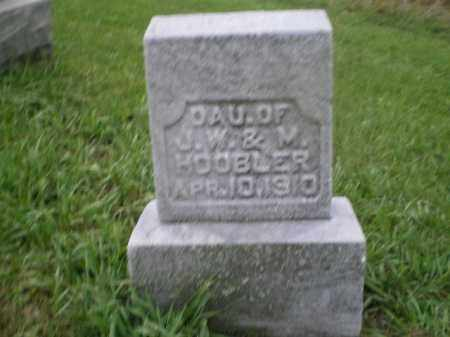 HOOBLER, GIRL - Jefferson County, Ohio | GIRL HOOBLER - Ohio Gravestone Photos
