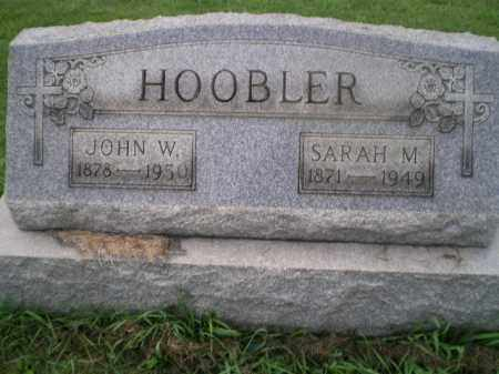 HOOBLER, SARAH M - Jefferson County, Ohio | SARAH M HOOBLER - Ohio Gravestone Photos