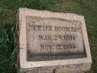 HOOBLER, PETER - Jefferson County, Ohio | PETER HOOBLER - Ohio Gravestone Photos