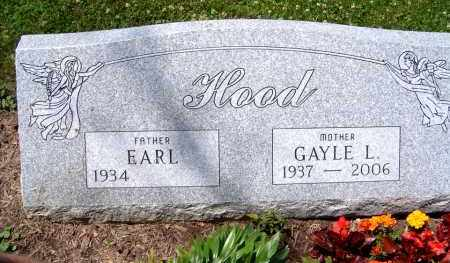 HOOD, EARL AND GAYLE L. - Jefferson County, Ohio | EARL AND GAYLE L. HOOD - Ohio Gravestone Photos