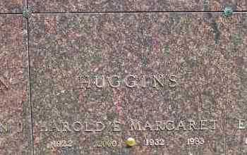 HUGGINS, HAROLD EDWIN - Jefferson County, Ohio | HAROLD EDWIN HUGGINS - Ohio Gravestone Photos