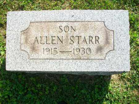 JONES, ALLEN STARR - Jefferson County, Ohio | ALLEN STARR JONES - Ohio Gravestone Photos
