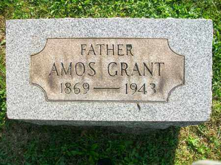 JONES, AMOS GRANT - Jefferson County, Ohio | AMOS GRANT JONES - Ohio Gravestone Photos