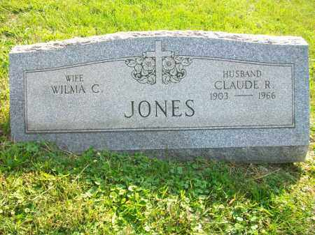 JONES, CLAUDE R - Jefferson County, Ohio | CLAUDE R JONES - Ohio Gravestone Photos