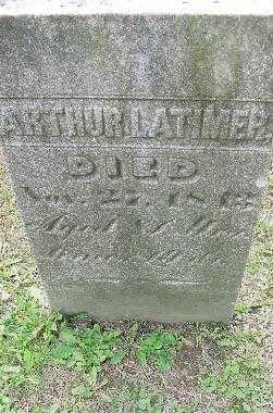 LATIMER, ARTHUR - Jefferson County, Ohio | ARTHUR LATIMER - Ohio Gravestone Photos