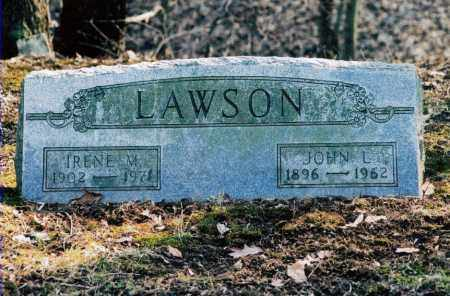 LAWSON, IRENE - Jefferson County, Ohio | IRENE LAWSON - Ohio Gravestone Photos