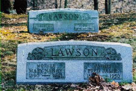 LAWSON, MARY NANCY - Jefferson County, Ohio | MARY NANCY LAWSON - Ohio Gravestone Photos