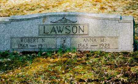 LAWSON, ANNA MARY - Jefferson County, Ohio | ANNA MARY LAWSON - Ohio Gravestone Photos
