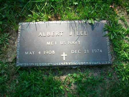 LEE, ALBERT J - Jefferson County, Ohio | ALBERT J LEE - Ohio Gravestone Photos