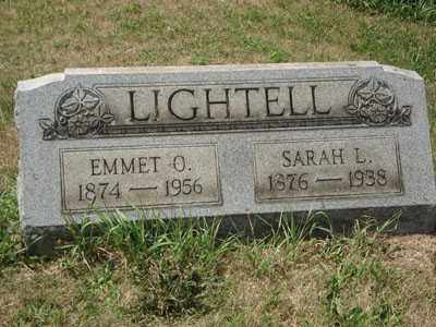 LIGHTELL, EMMET O. - Jefferson County, Ohio | EMMET O. LIGHTELL - Ohio Gravestone Photos