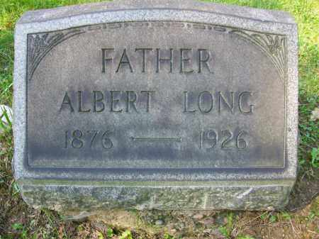 LONG, ALBERT - Jefferson County, Ohio | ALBERT LONG - Ohio Gravestone Photos