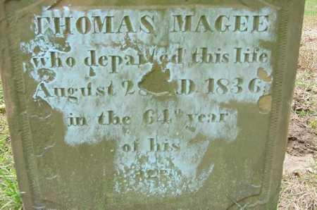 MAGEE, THOMAS - Jefferson County, Ohio | THOMAS MAGEE - Ohio Gravestone Photos