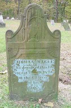 MAGEE, THOMAS - OVERALL VIEW - Jefferson County, Ohio   THOMAS - OVERALL VIEW MAGEE - Ohio Gravestone Photos