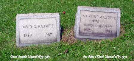 MAXWELL, INA R. - Jefferson County, Ohio | INA R. MAXWELL - Ohio Gravestone Photos