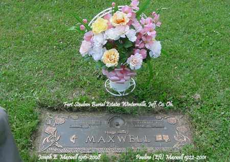 EFT MAXWELL, PAULINE - Jefferson County, Ohio | PAULINE EFT MAXWELL - Ohio Gravestone Photos