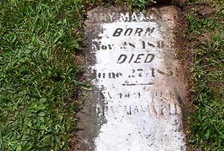 MAXWELL, MARY - Jefferson County, Ohio | MARY MAXWELL - Ohio Gravestone Photos