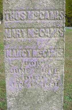 MCCAMIS, MARY - Jefferson County, Ohio | MARY MCCAMIS - Ohio Gravestone Photos