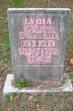 MC CLAVE, LYDIA - MONUMENT - Jefferson County, Ohio | LYDIA - MONUMENT MC CLAVE - Ohio Gravestone Photos
