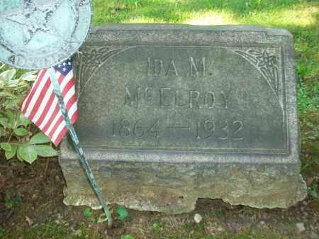 MCELROY, IDA M - Jefferson County, Ohio | IDA M MCELROY - Ohio Gravestone Photos