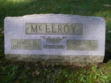MCELROY, JAMES D - Jefferson County, Ohio | JAMES D MCELROY - Ohio Gravestone Photos