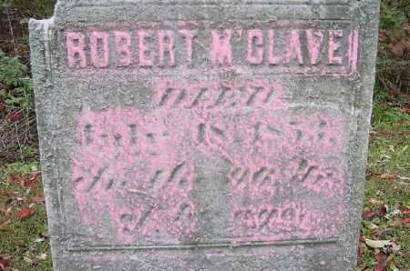 MC CLAVE, ROBERT - CLOSE VIEW - Jefferson County, Ohio | ROBERT - CLOSE VIEW MC CLAVE - Ohio Gravestone Photos