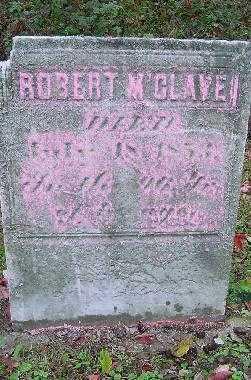 M'CLAVEN, ROBERT - Jefferson County, Ohio | ROBERT M'CLAVEN - Ohio Gravestone Photos