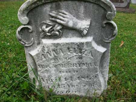MERRYMAN, ANNA ELIZA - Jefferson County, Ohio   ANNA ELIZA MERRYMAN - Ohio Gravestone Photos