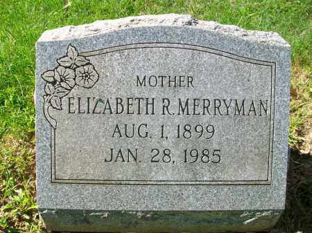 MERRYMAN, ADA ELIZABETH - Jefferson County, Ohio | ADA ELIZABETH MERRYMAN - Ohio Gravestone Photos