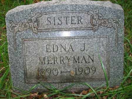 MERRYMAN, EDNA J - Jefferson County, Ohio | EDNA J MERRYMAN - Ohio Gravestone Photos