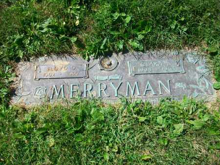 MERRYMAN, FLOYD DREXEL - Jefferson County, Ohio | FLOYD DREXEL MERRYMAN - Ohio Gravestone Photos