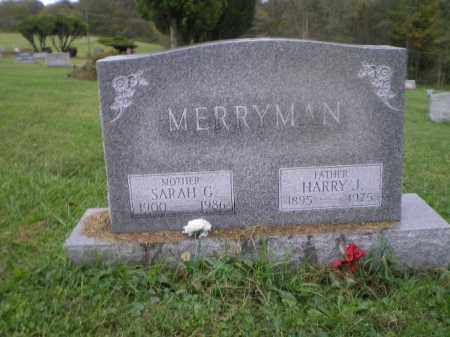 MERRYMAN, HARRY JOHN - Jefferson County, Ohio | HARRY JOHN MERRYMAN - Ohio Gravestone Photos