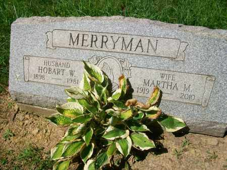 MERRYMAN, MARTHA MAE - Jefferson County, Ohio | MARTHA MAE MERRYMAN - Ohio Gravestone Photos