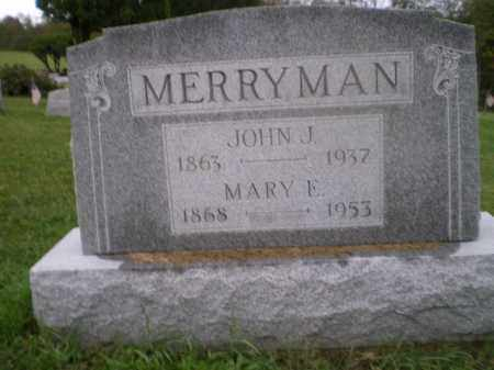 "MERRYMAN, MARY ELIZABETH ""MOLLIE"" - Jefferson County, Ohio 