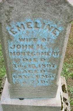MONTGOMERY, EMELINE - Jefferson County, Ohio | EMELINE MONTGOMERY - Ohio Gravestone Photos