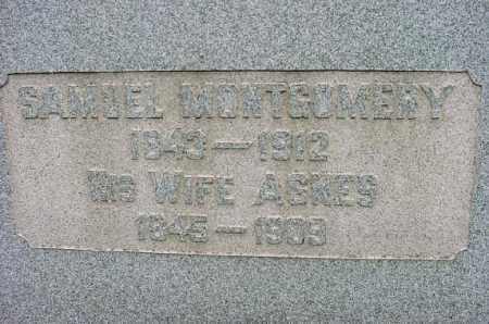 MC LEAN MONTGOMERY, ANGES - Jefferson County, Ohio | ANGES MC LEAN MONTGOMERY - Ohio Gravestone Photos
