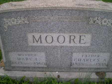MOORE, CHARLES ALBERT - Jefferson County, Ohio | CHARLES ALBERT MOORE - Ohio Gravestone Photos