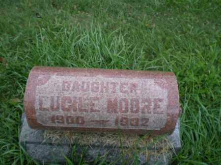 MOORE, LUCILE - Jefferson County, Ohio | LUCILE MOORE - Ohio Gravestone Photos