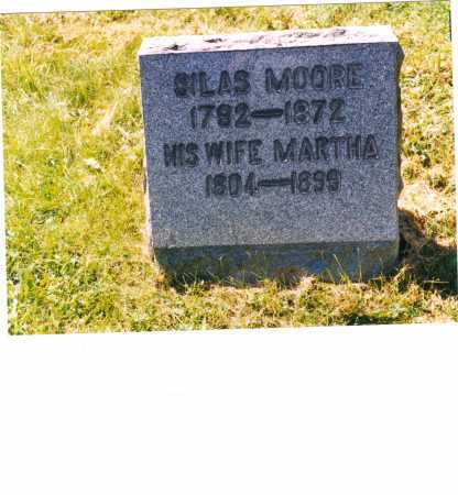 MOORE, MARTHA - Jefferson County, Ohio | MARTHA MOORE - Ohio Gravestone Photos