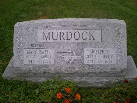 MERRYMAN MURDOCK, MARY ISABELLE - Jefferson County, Ohio | MARY ISABELLE MERRYMAN MURDOCK - Ohio Gravestone Photos