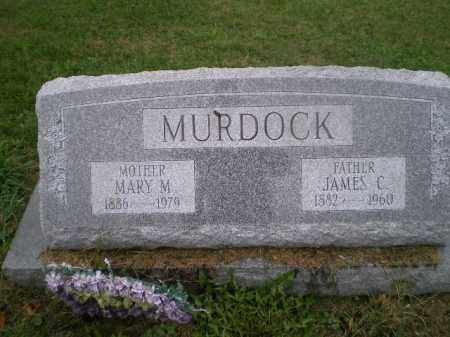 MURDOCK, JAMES C - Jefferson County, Ohio | JAMES C MURDOCK - Ohio Gravestone Photos