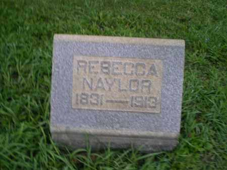 NAYLOR, REBECCA - Jefferson County, Ohio | REBECCA NAYLOR - Ohio Gravestone Photos